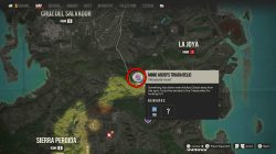 Mimo Abosi's Triada Relic treasure hunt location