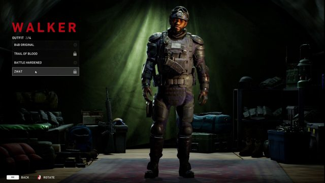 back 4 blood zwat outfit skins