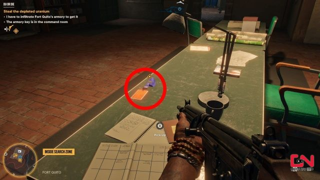 far cry 6 fort quito key yaran contraband chest