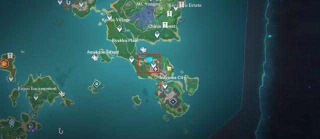 Genshin Impact Recipe Locations 2.2