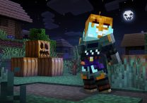 get free spooky gourdian character set in minecraft