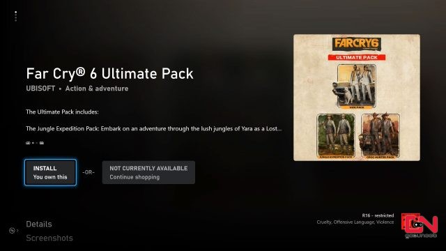 how to get far cry 6 pre-order gold ultimate edition items