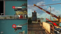 how to move crane on oil rig far cry 6 oil rig gun