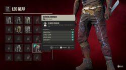 oku's deliverance leg gear