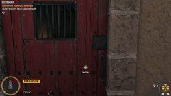 open the door with the key