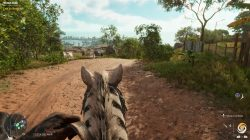 riding the Mogote Zebra in Far Cry 6