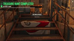 treasure hunt completed