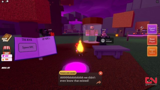 wacky wizards fire potion how to make & scare developers