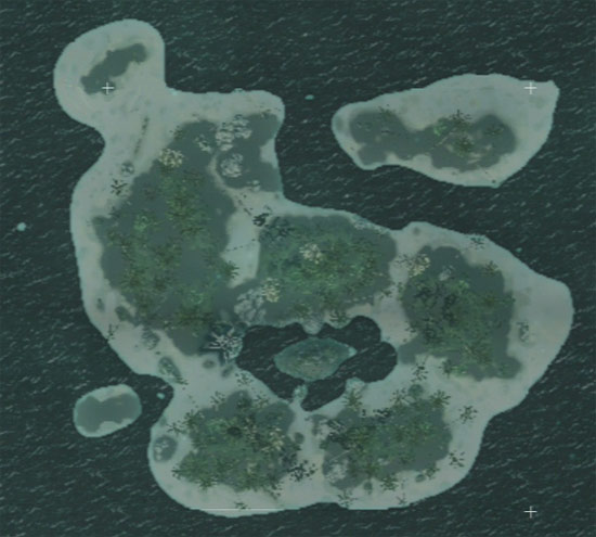 map of Abaco Island