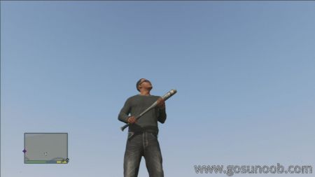 gta5 weapon Baseball Bat middle size