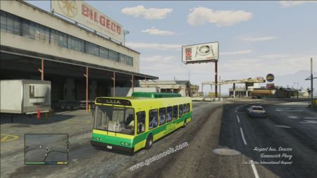 gtav vehicle Airport Bus middle size