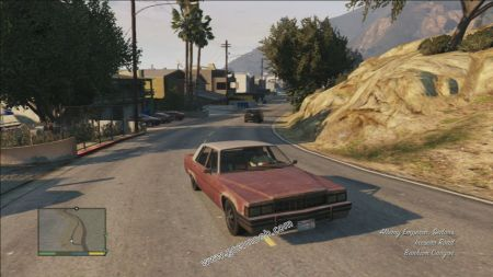 gtav vehicle Albany Emperor middle size