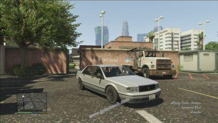 gtav vehicle Albany Primo middle size