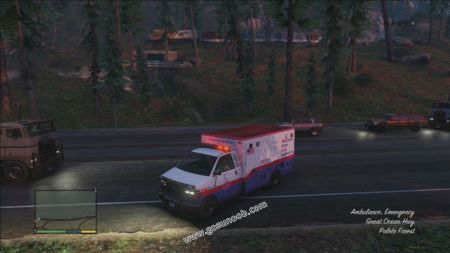 gtav vehicle Ambulance middle size