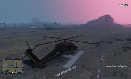 gtav vehicle Annihilator middle size