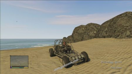 gtav vehicle BF Dune Buggy middle size