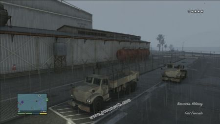 gtav vehicle Barracks middle size