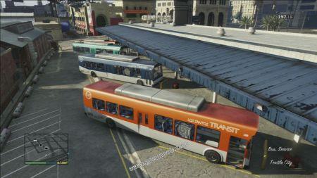 gtav vehicle Bus middle size