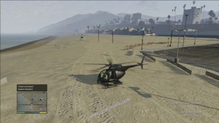 gtav vehicle Buzzard Attack Chopper middle size