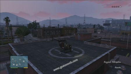 gtav vehicle Buzzard middle size