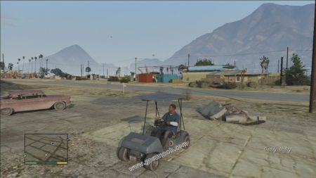 gtav vehicle Caddy middle size