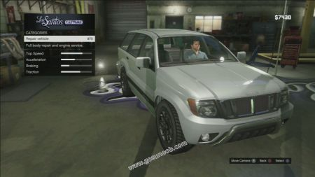 gtav vehicle Canis Seminole middle size