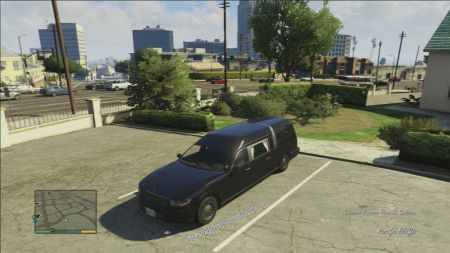 gtav vehicle Chariot Romero Hearse middle size