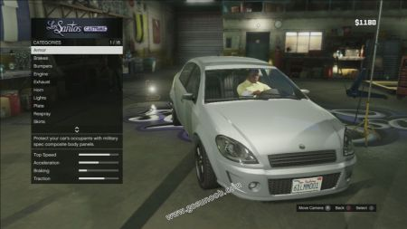 gtav vehicle Declasse Premier middle size