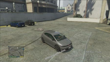gtav vehicle Dinka Blista middle size
