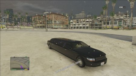 gtav vehicle Dundreary Stretch middle size