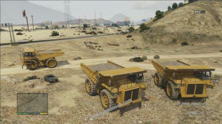 gtav vehicle HVY Dump middle size