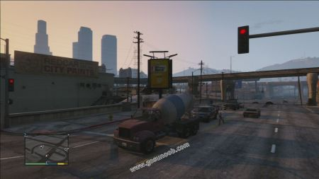 gtav vehicle HVY Mixer middle size