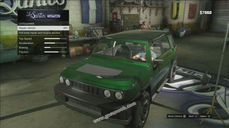 gtav vehicle Karin BeeJay XL middle size