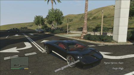 gtav vehicle Pegassi Infernus middle size