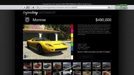 gtav vehicle Pegassi Monroe middle size