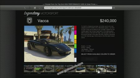gtav vehicle Pegassi Vacca middle size