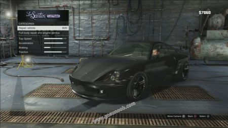gtav vehicle Pfister Comet middle size