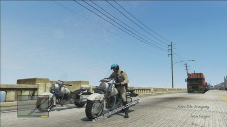 gtav vehicle Police Bike middle size