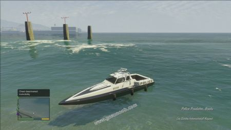 gtav vehicle Police Predator middle size