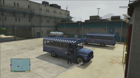 gtav vehicle Police Prison Bus middle size