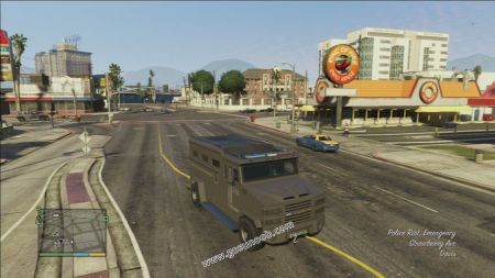 gtav vehicle Police Riot middle size