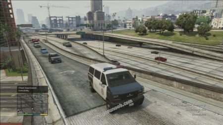 gtav vehicle Police Transporter middle size