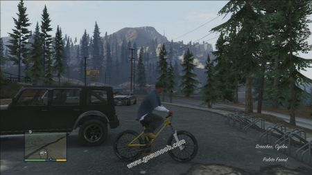 gtav vehicle Scorcher middle size