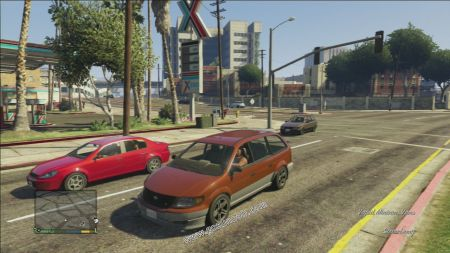 gtav vehicle Vapid Minivan middle size