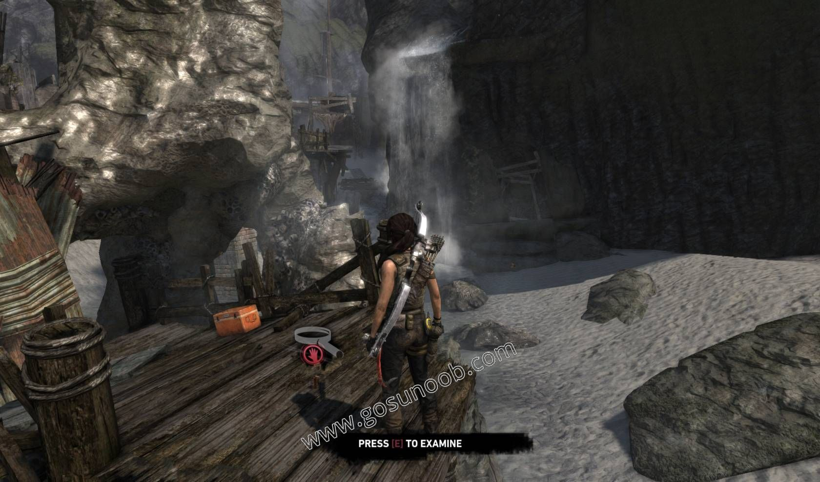 Tomb Raider Shipwreck Beach Gps On