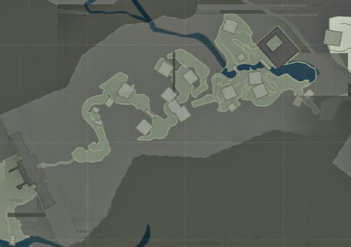 map of Mountain Temple