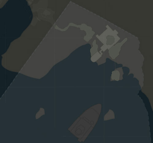 map of Cliffside Bunker
