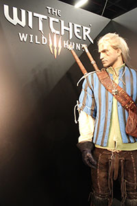 witcher-3-geralt-statue-gamescom-2014